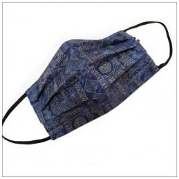 Masque 3 Plis Inca Bleu