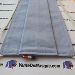 Tissu - Bleu Ciel