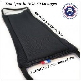 Masque Tissu DGA 50 Lavages...
